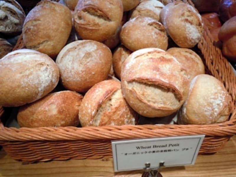 オーガニック小麦の全粒粉パンundefinedプチ