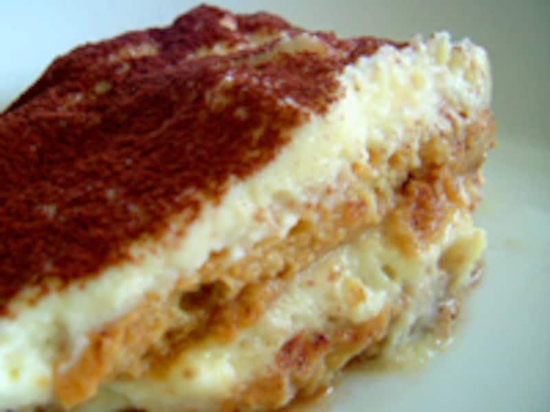 イタリアの家庭  菓子 簡単ティラミス