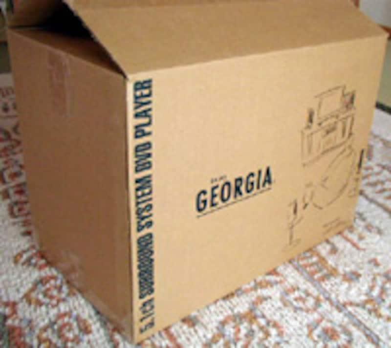 ジョージア特製DVDシアターセットの外箱