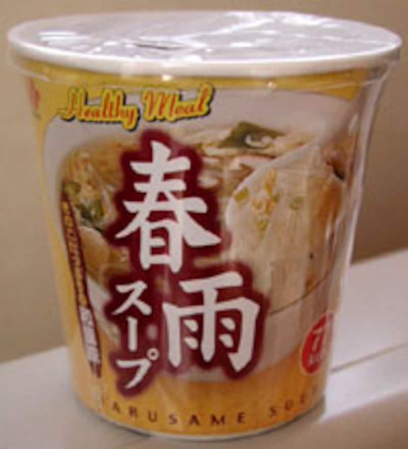 春雨スープ きのこたっぷりの和風味