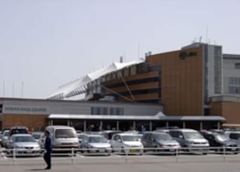 JRA新潟競馬場全景