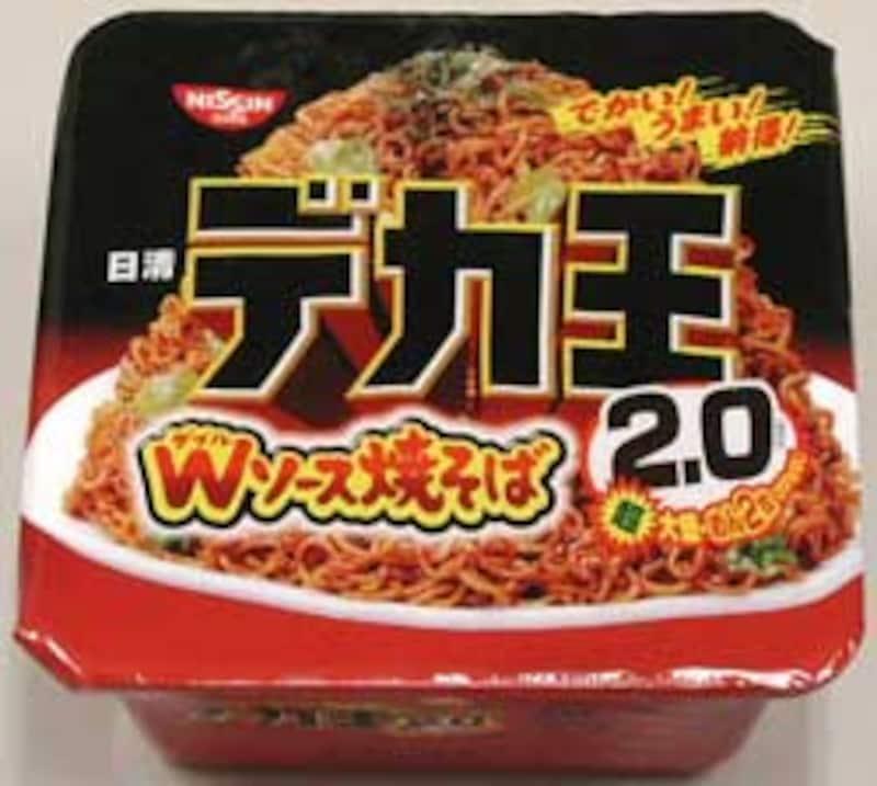 日清食品 デカ王 Wソース焼そばパッケージ写真