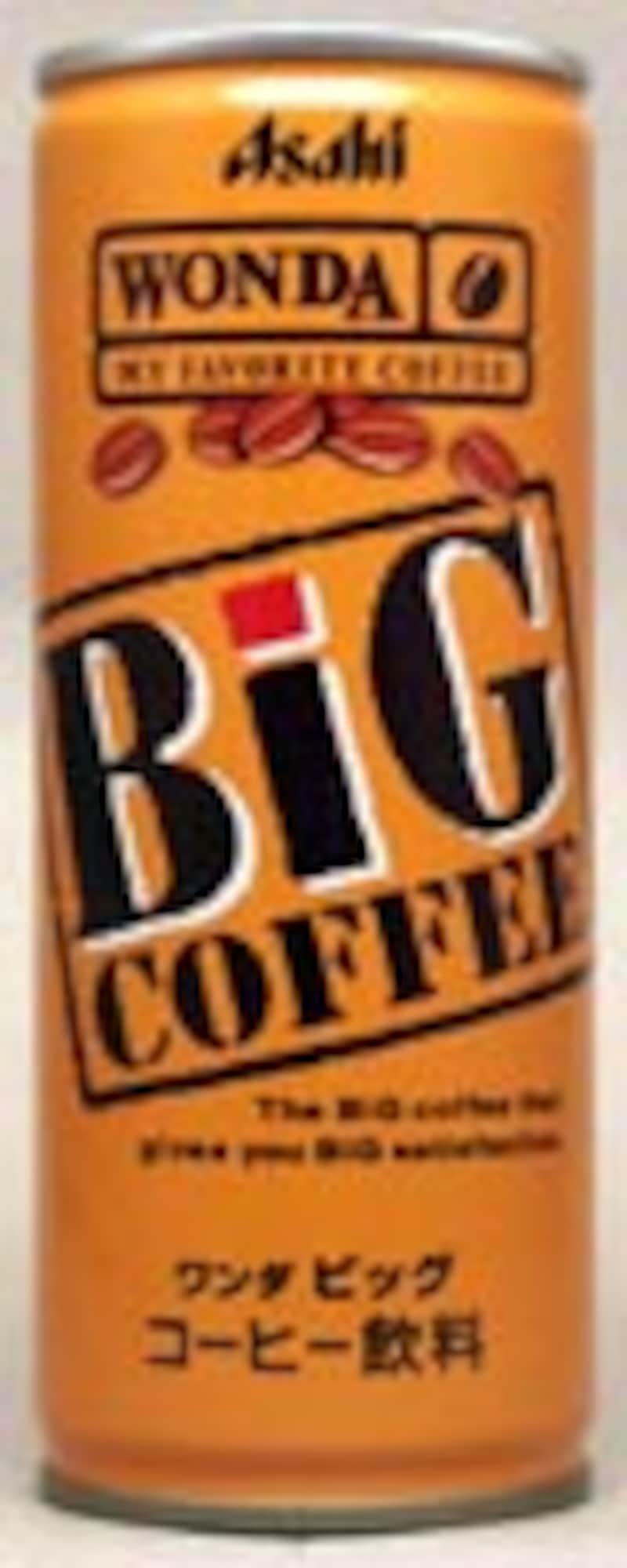 アサヒ ワンダビッグコーヒー