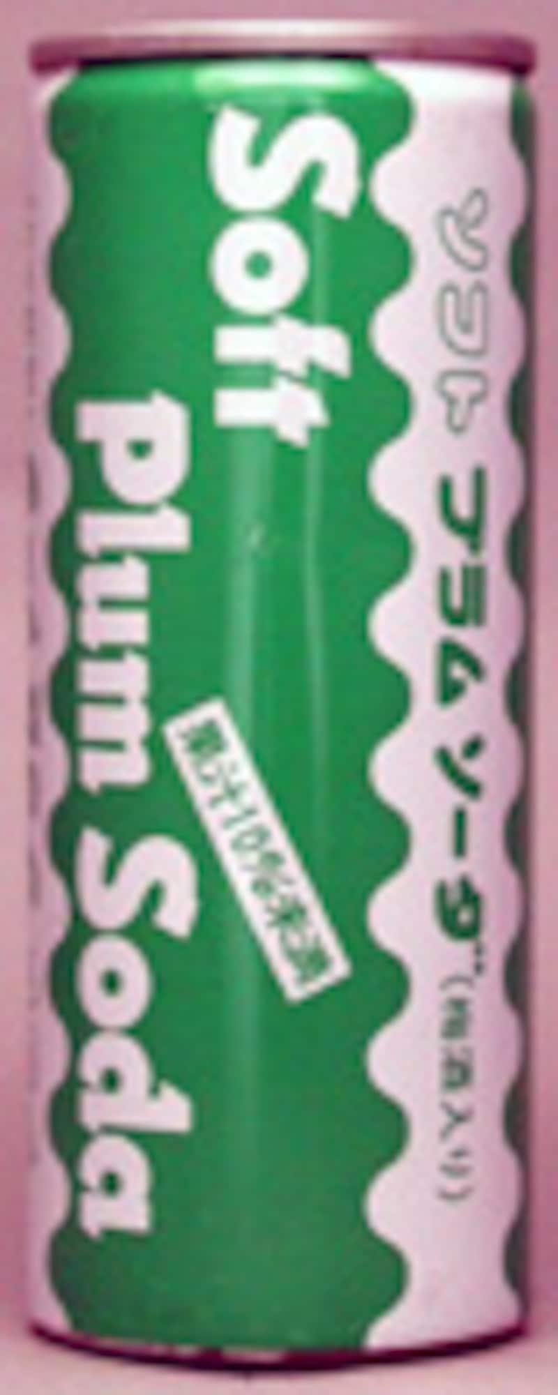 利根ソフトドリンク プラムソーダ