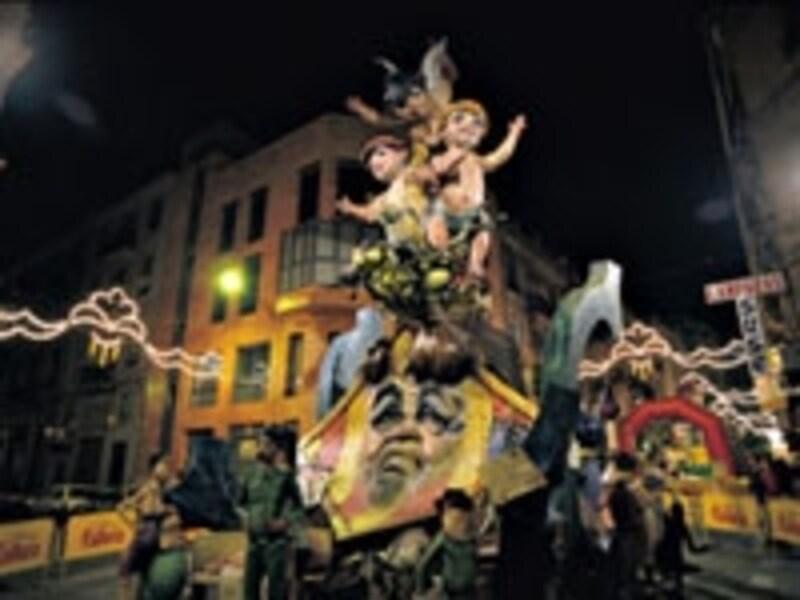 スペイン3大祭りの1つ、ラス・ファジャス