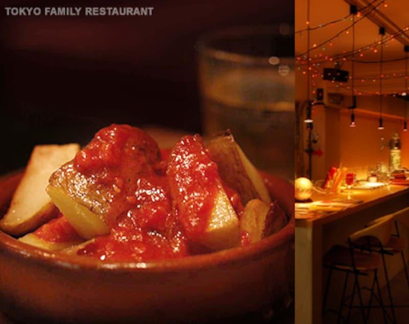 東京ファミリーレストラン料理写真