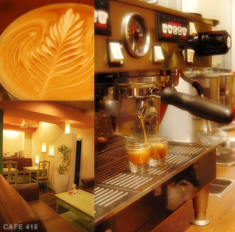 cafe415の店内写真