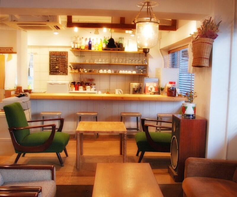 カフェの店内写真