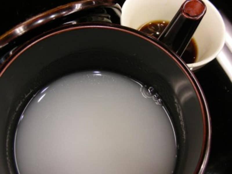 蕎麦湯の作り方!そば屋の楽しみ、蕎麦湯のレシピ