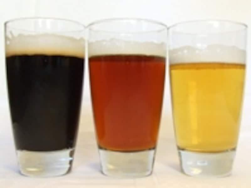 ビールの色の違い