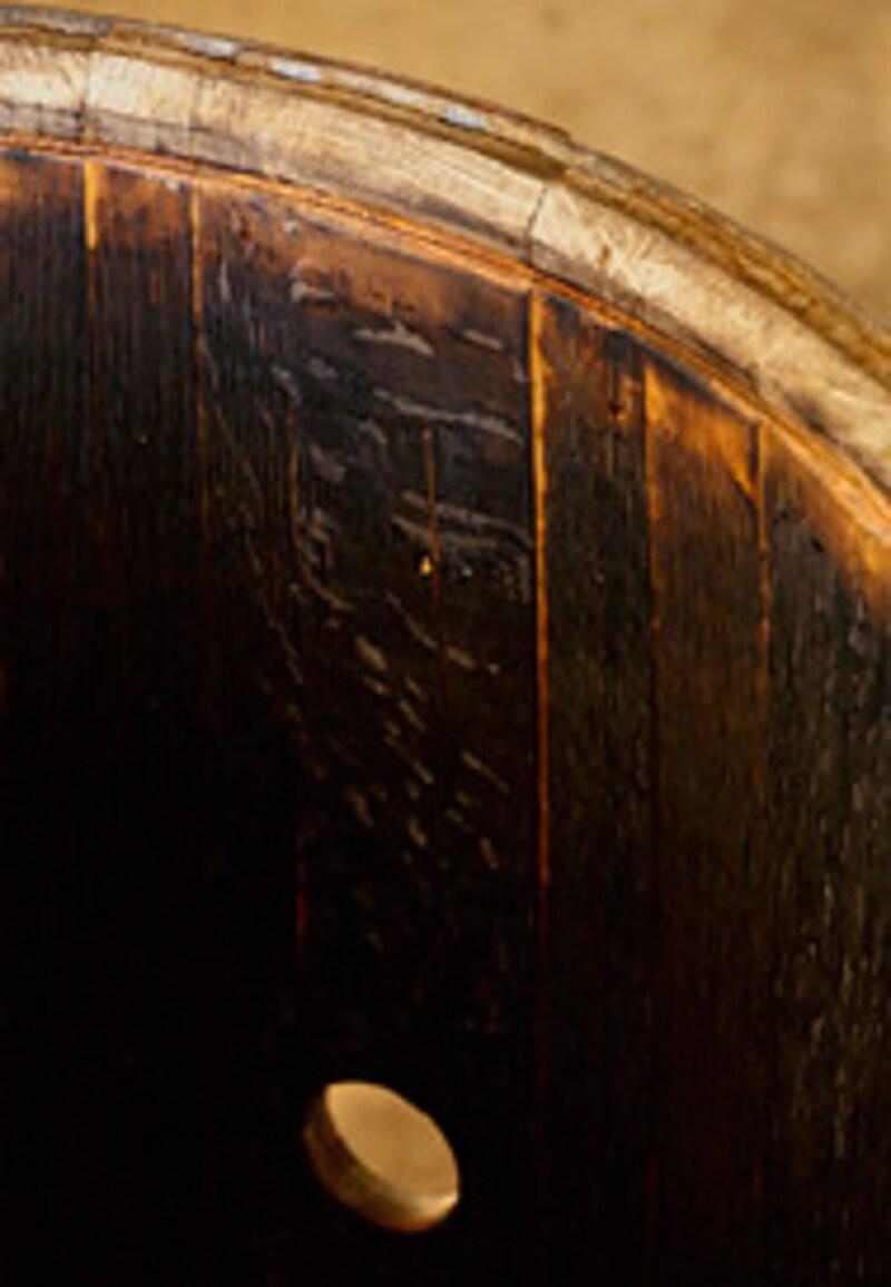 これがリチャーの後の樽内面