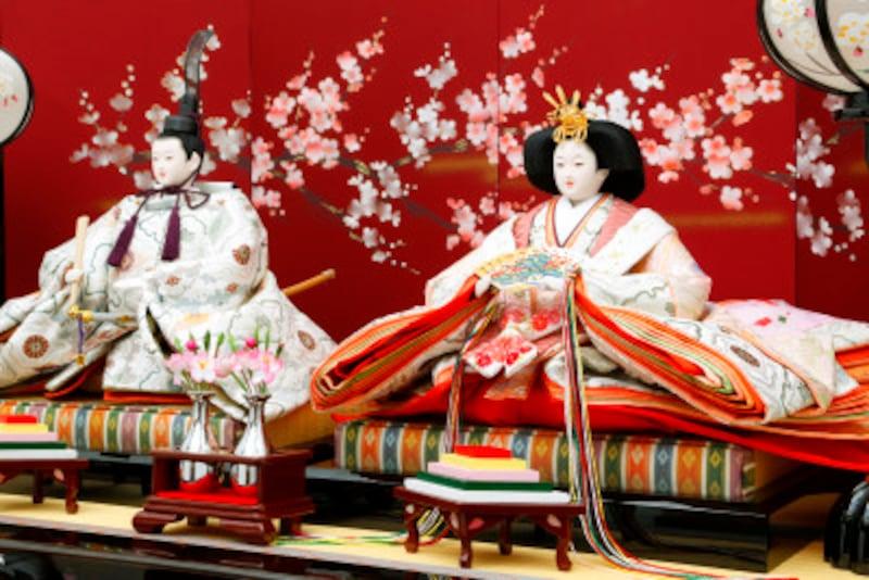 雛人形・お雛様の並べ方・位置 現代の雛人形