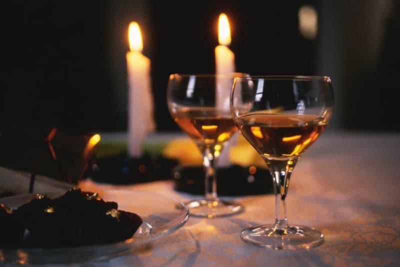 手軽にできるチョコレートカクテルで、23時から始まる大人のバレンタイン
