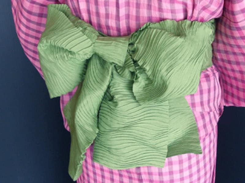 兵児帯の結び方ー蝶々結び 子どもの浴衣帯