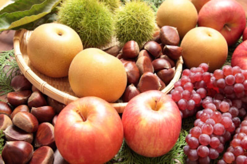 ぶどう、梨、りんご、栗…実りの秋は味覚狩りが楽しい!