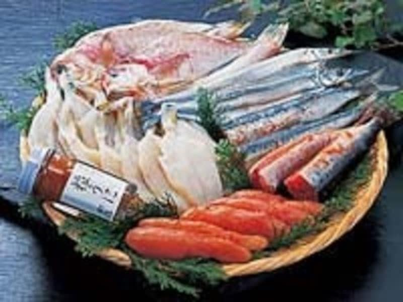 お歳暮・お中元、魚介類の熨斗(のし)