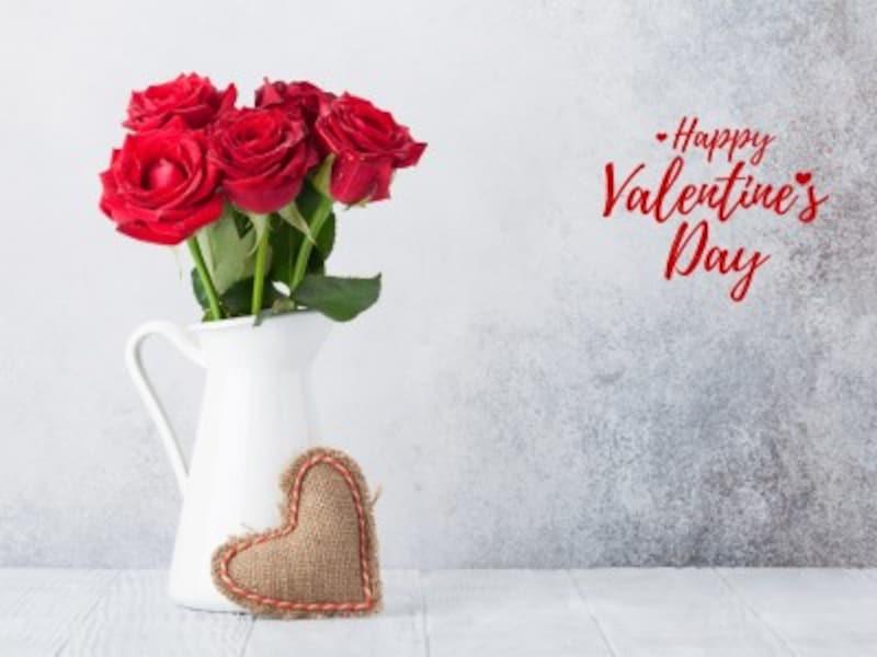 世界各国、バレンタインデーに花を贈るのも人気