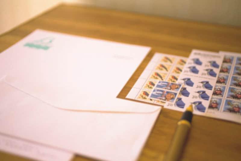 切手貼り方・位置・貼る位置