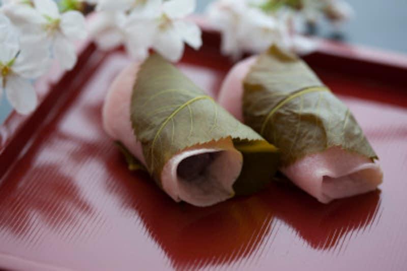 桜餅 関東風=長命寺