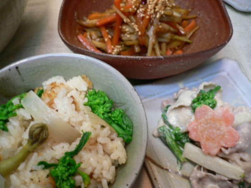 うど料理といえば天ぷらや酢味噌和えが定番ですが、ほかにも手軽なメニューがたくさんあります。