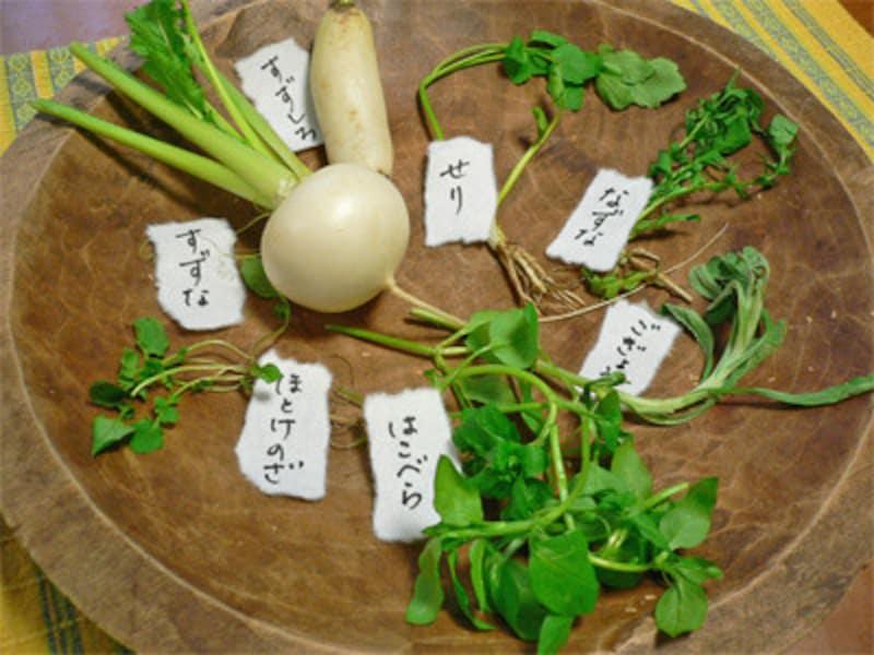 七草粥セット、七草粥作り方レシピ、土鍋で作る方法、前日準備