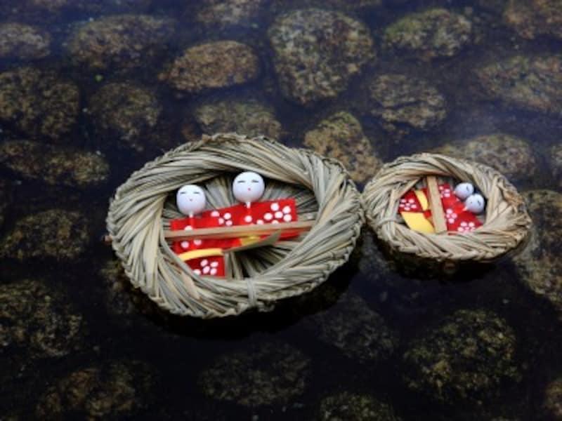 ひな祭り・桃の節句 流し雛