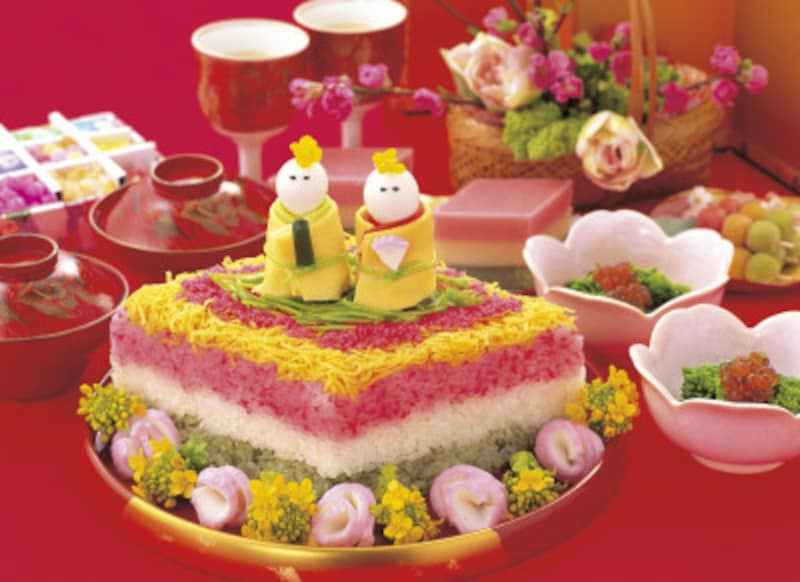 桃の節句・ひな祭りの食べ物・行事食