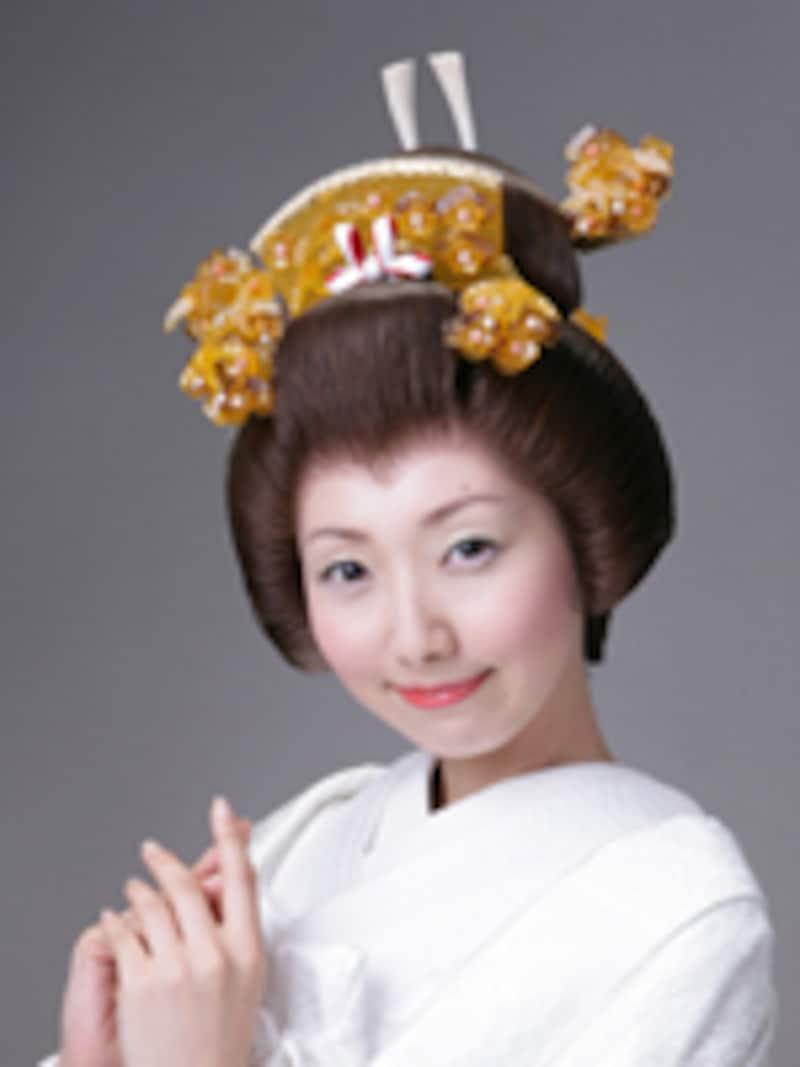 白無垢文金高島田