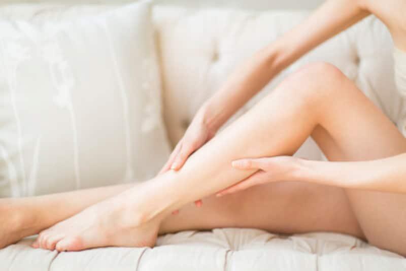 脚のむくみ&たるみ解消のマッサージ