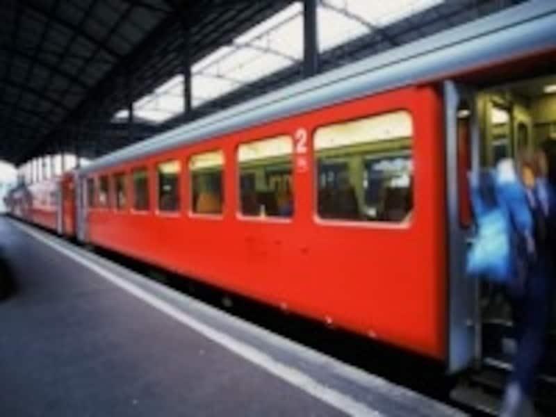 正確な運行を誇るスイスの鉄道
