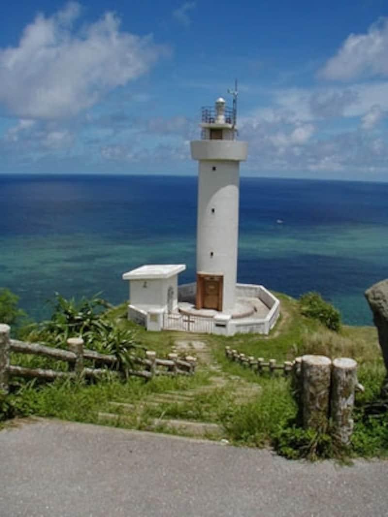 島の最北端、平久保崎から眺める東シナ海