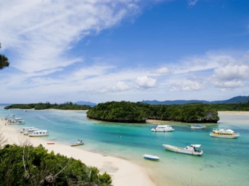 沖縄一の景勝地とも言える川平湾