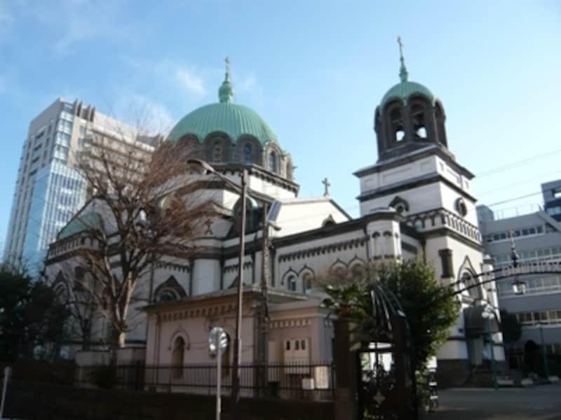 日本有数のビザンチン様式建築。国の重要文化財に指定されています