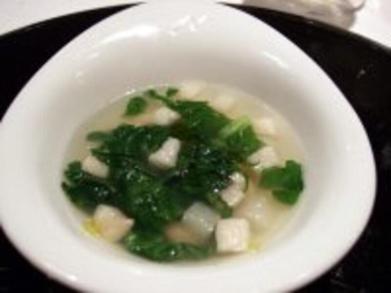 スープ料理。