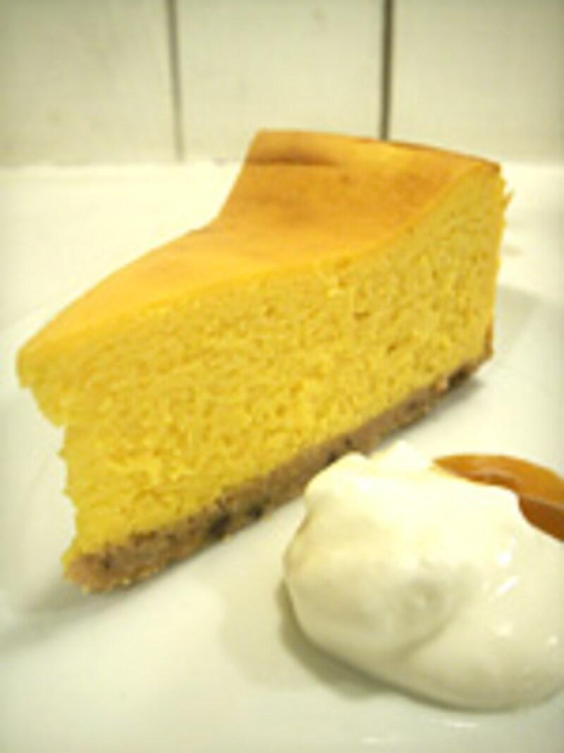 ベイクドチーズケーキ かぼちゃ