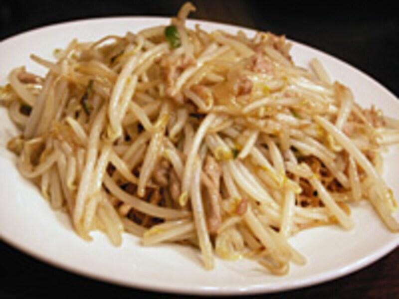 肉絲炒麺(豚肉トモヤシヤキソバ)