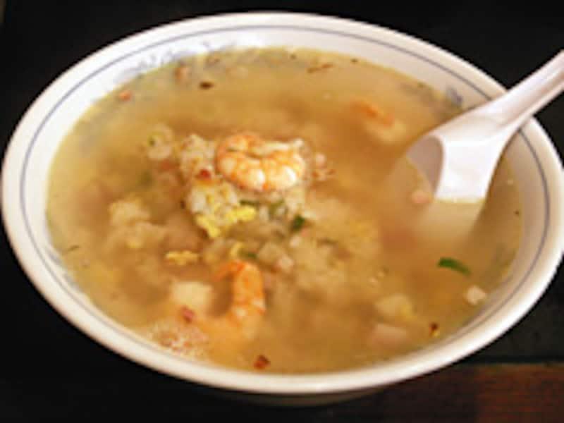 上湯炒飯(スープ入ヤキメシ)