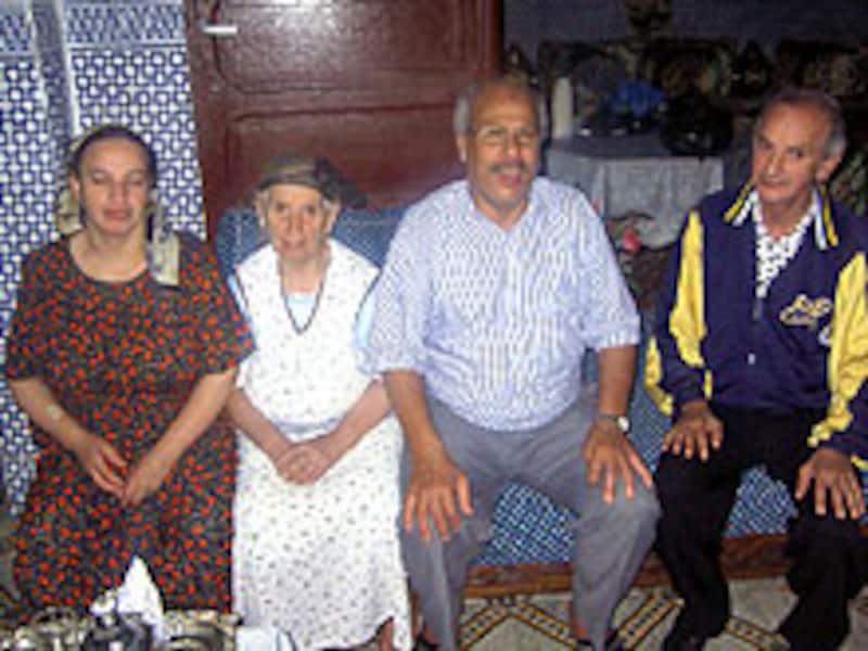 モロッコの家族