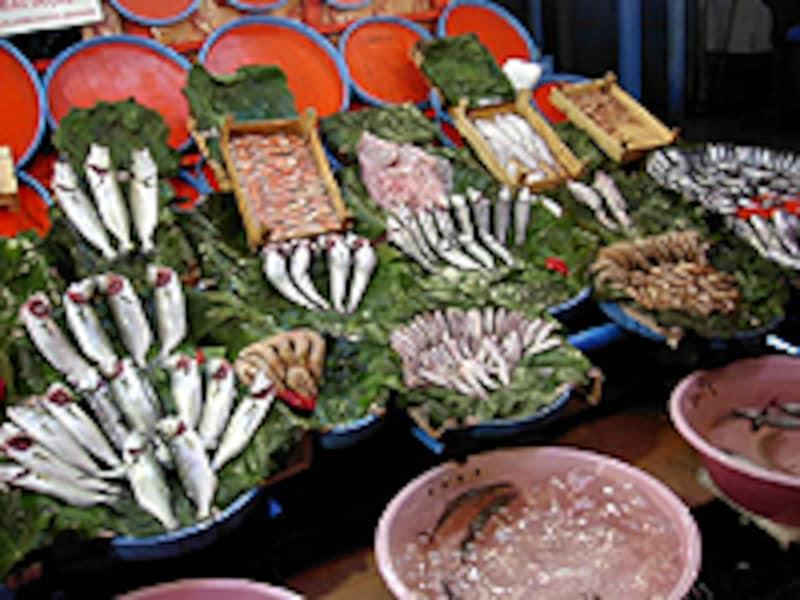 トルコの魚売り場