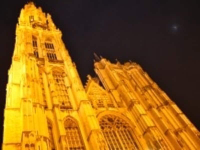 ブラバンド•ゴシック様式の傑作と言われる大聖堂