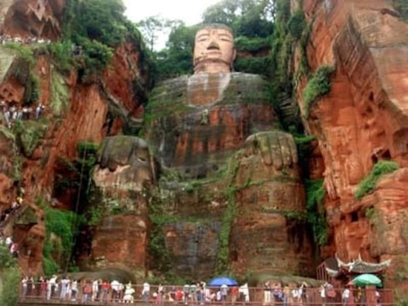 世界最大の石仏・楽山undefined(C)AbeMie