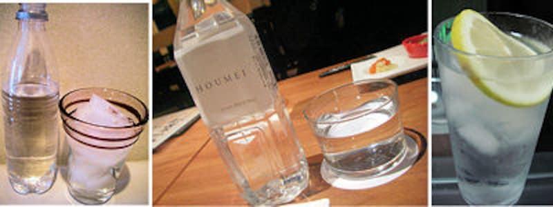 上質な美味しい水を選んで、極上の焼酎水割りを楽しもう