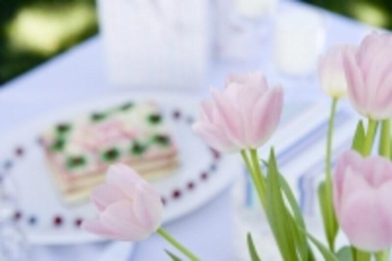 婚礼料理が試食できるのもブライダルフェアの魅力