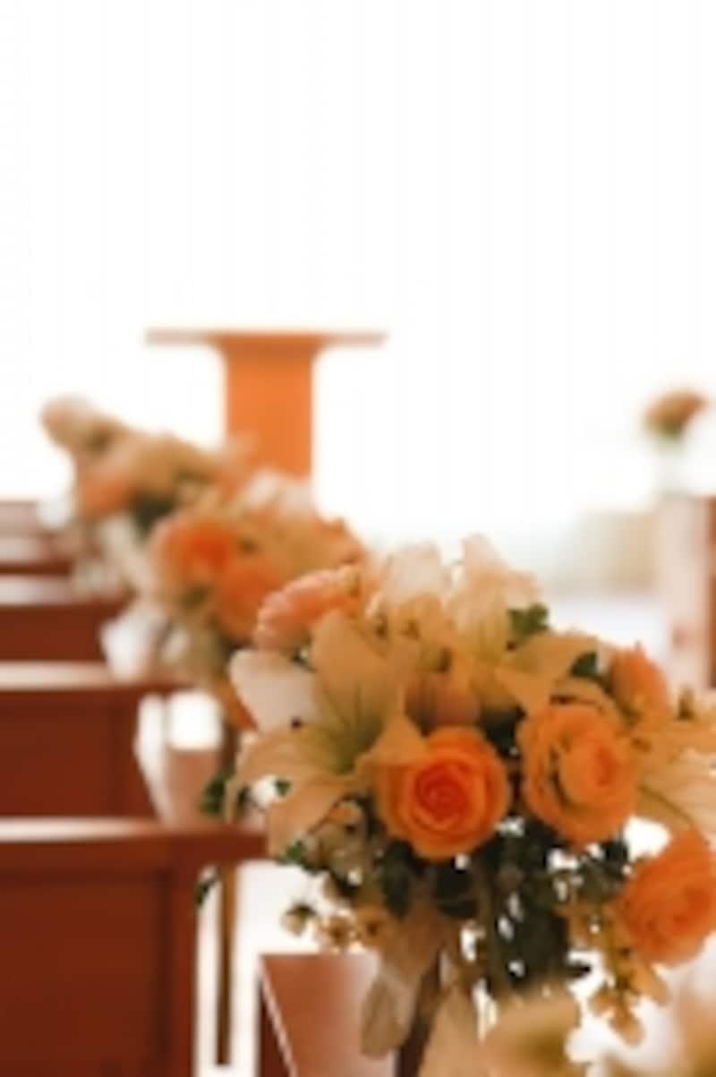 挙式スタイルの中でも根強い人気のキリスト挙式
