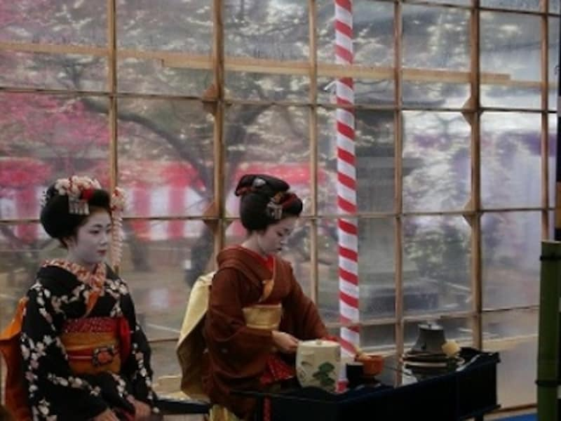 京都 北野天満宮の梅花祭