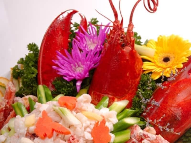 カナダを代表する海の幸ロブスターと中華料理の融合です。