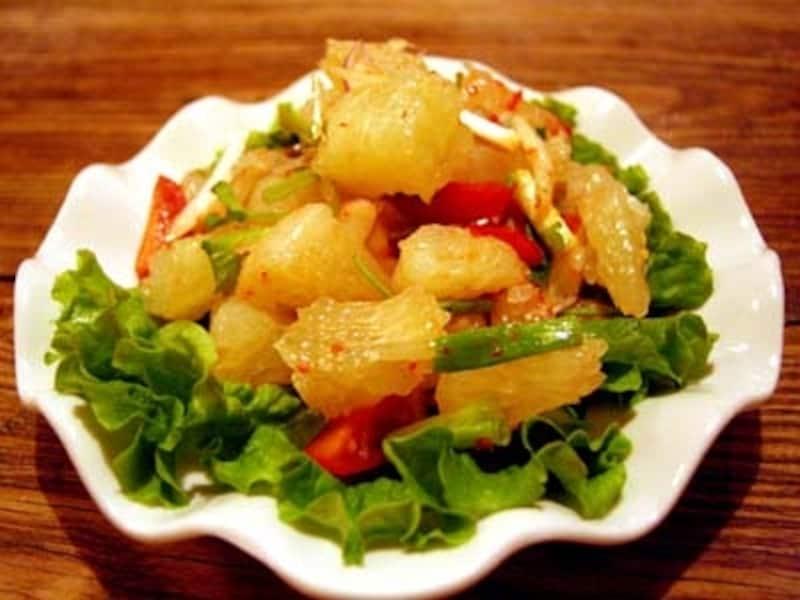 絶品のグレープフルーツサラダ
