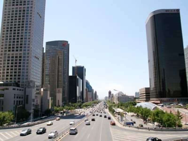 広い北京を移動するのはやっぱり車が便利