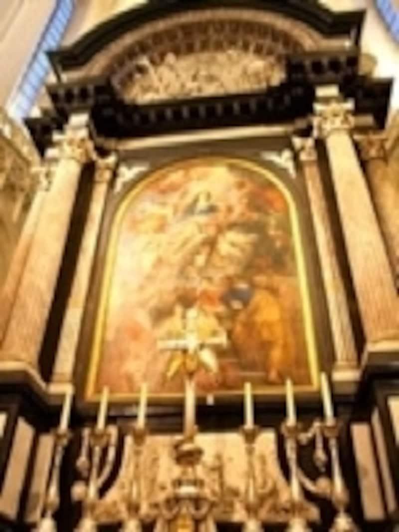 大聖堂の主役『マリア被昇天』