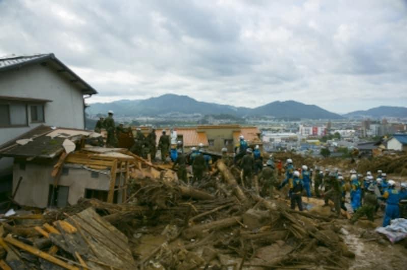 土砂災害と火災保険の補償とは?